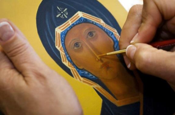 Кога са започнали да се рисуват икони?
